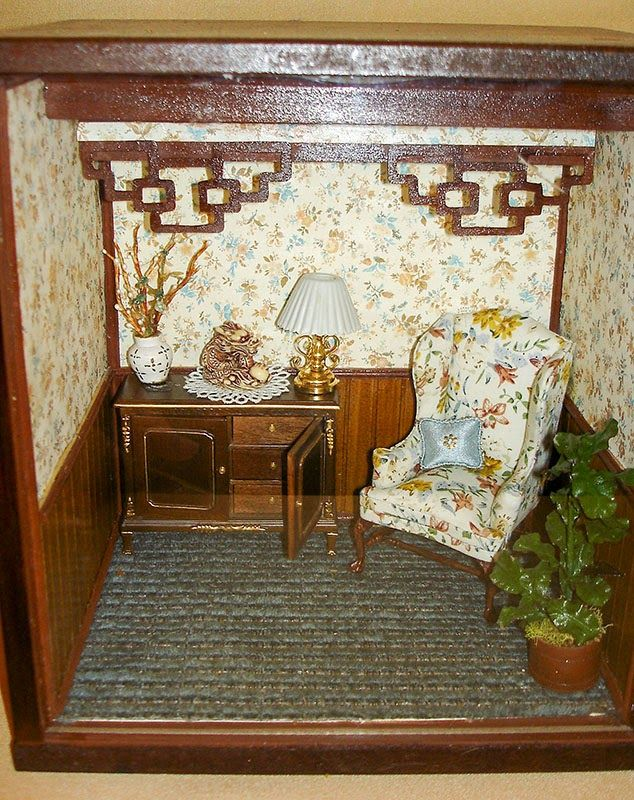 Good Sam Showcase of Miniatures: Exhibits| Asian sitting room
