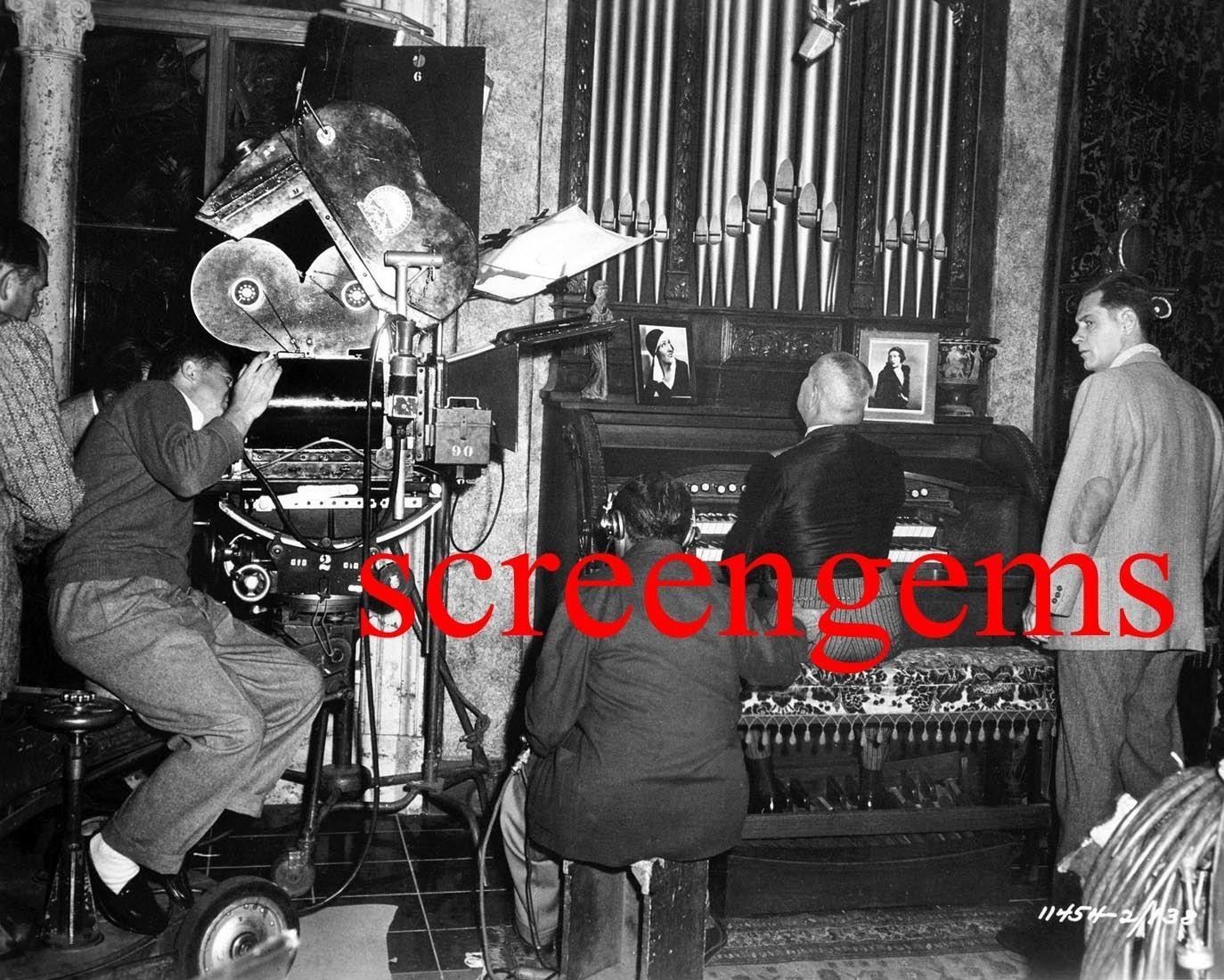 William Holden - rare behind scenes Sunset Blvd. (1950)