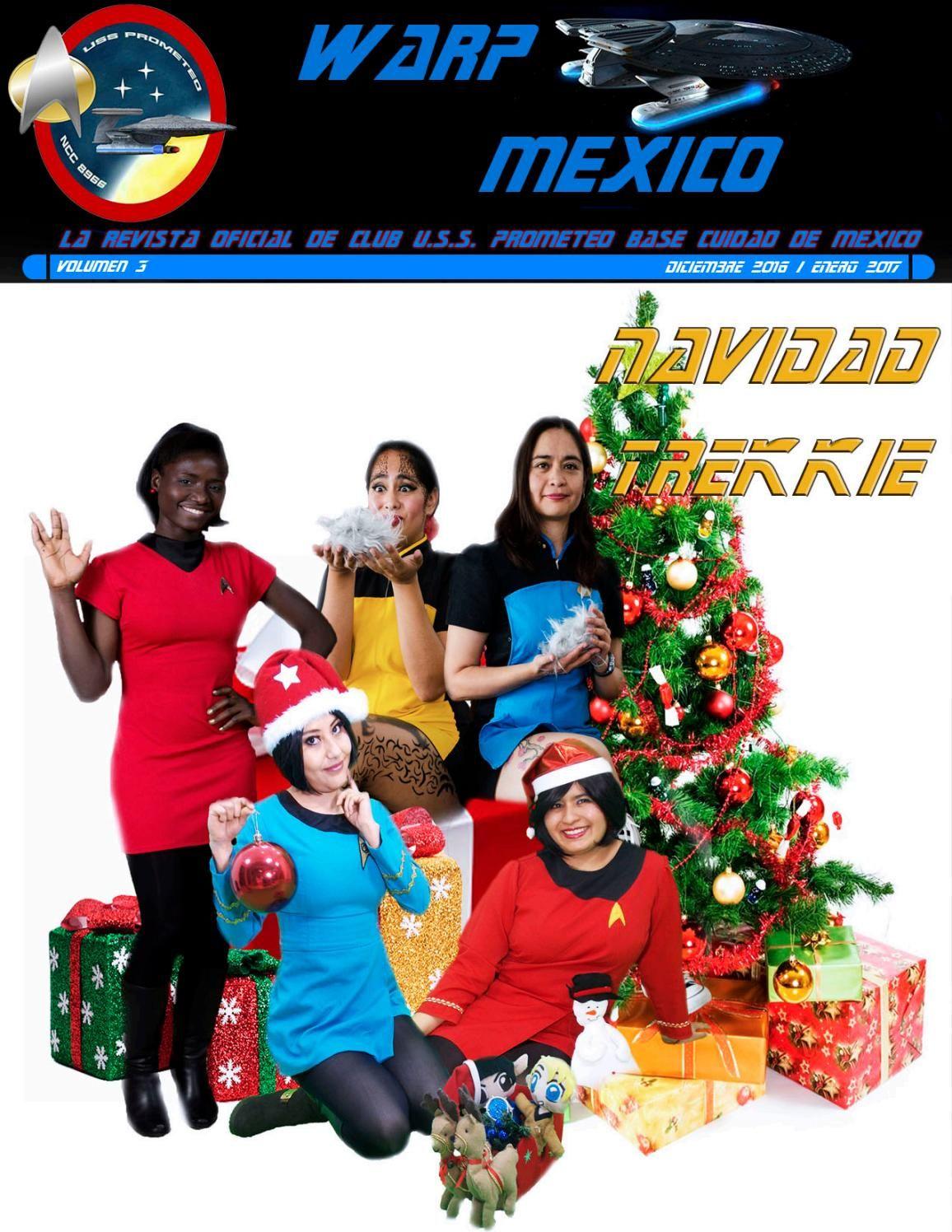 Star Trek Prometeo Revista diciembre enero