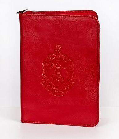 Delta Sigma Theta Leather Ritual Cover W Zipper Dst Delta Sigma