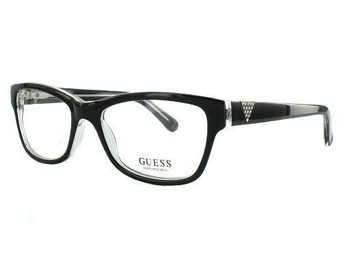 259b6be658a Guess GU 2294 BLK 53 17 Black Eyeglasses GUESS.  79.00. Save 43 ...