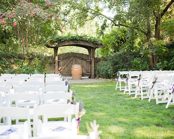 Wine Roses Wedding Lodi Ca Offer Beautiful Garden Setting The Is Elegant With A Twist Of Rustic Charm
