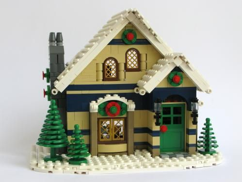 Pin By Betsi Goutal On Lego Lego Winter Lego Christmas Village Lego Winter Village