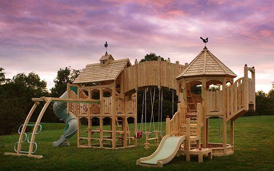 Cedarworks Eco Friendly Custom Playsets Playset Outdoor Playground Set Playground