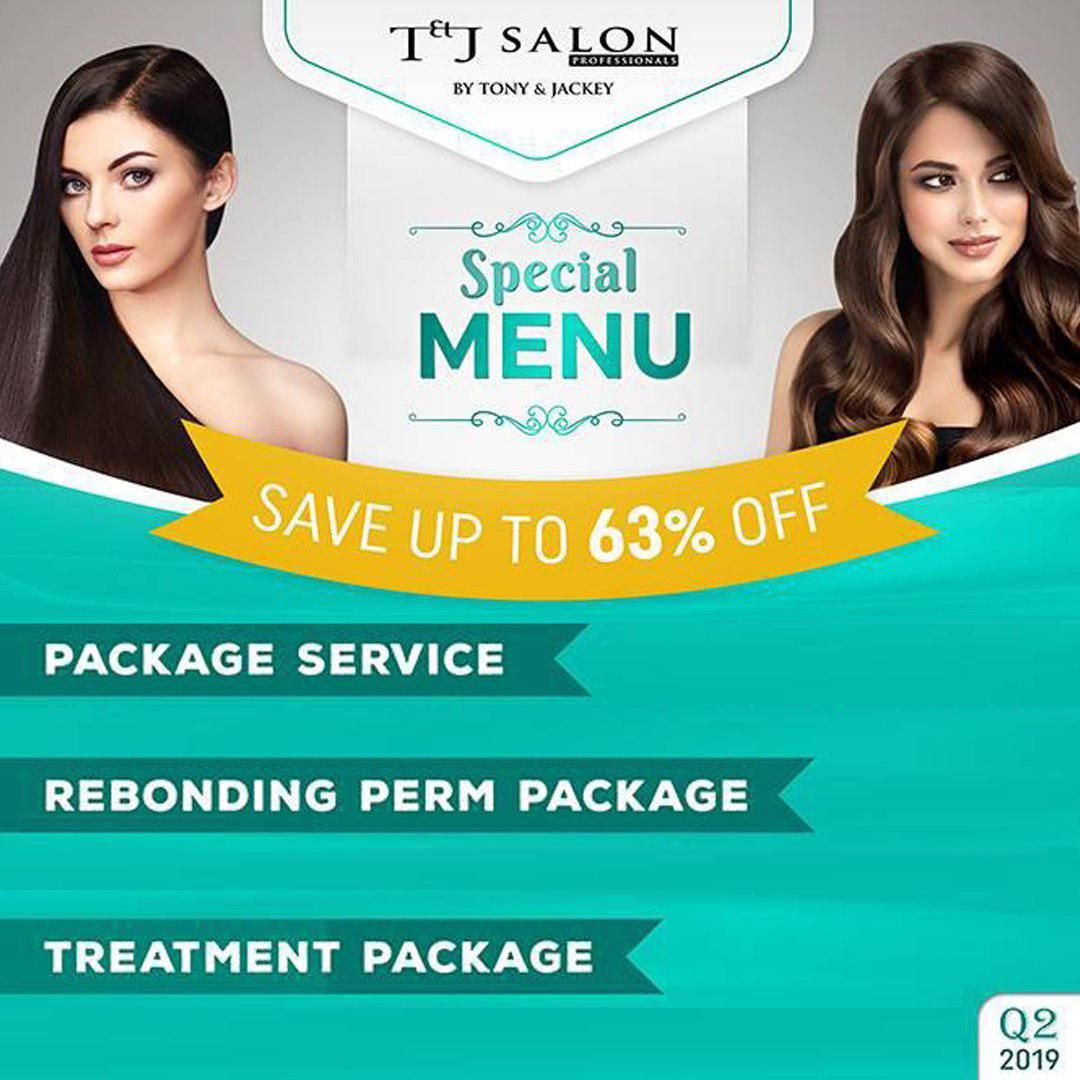 Transform your looks at T & J Salon Professionals and save