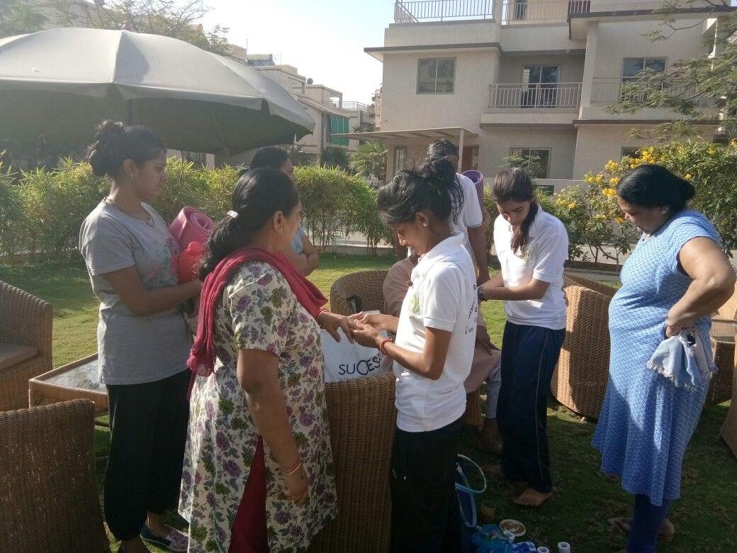 Gyanish yoga conduct alternative therapy camps