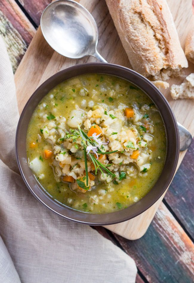 Hearty Winter Vegetable Soup Recipe E A T Winter