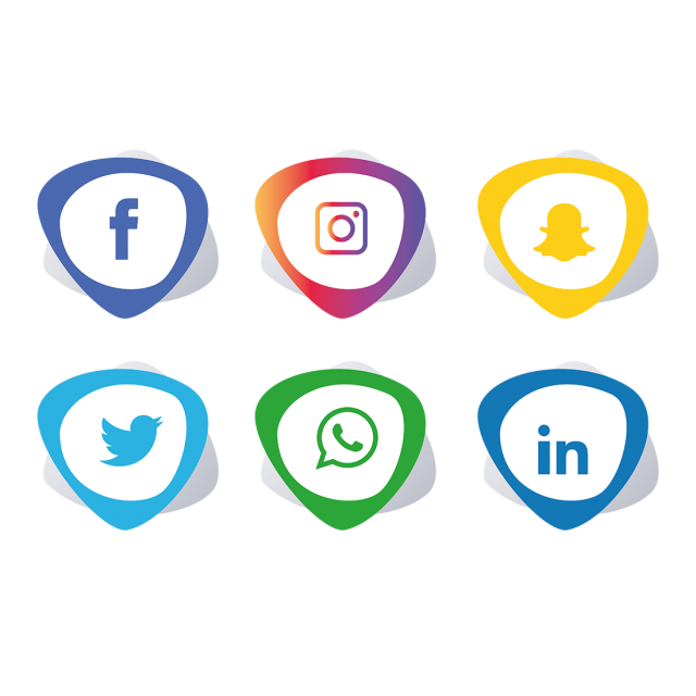 Social Media Icons Set Design Social Icons Media Icons Social Media Icons Png And Vector With Transparent Background For Free Download Social Media Icons Media Icon Social Icons