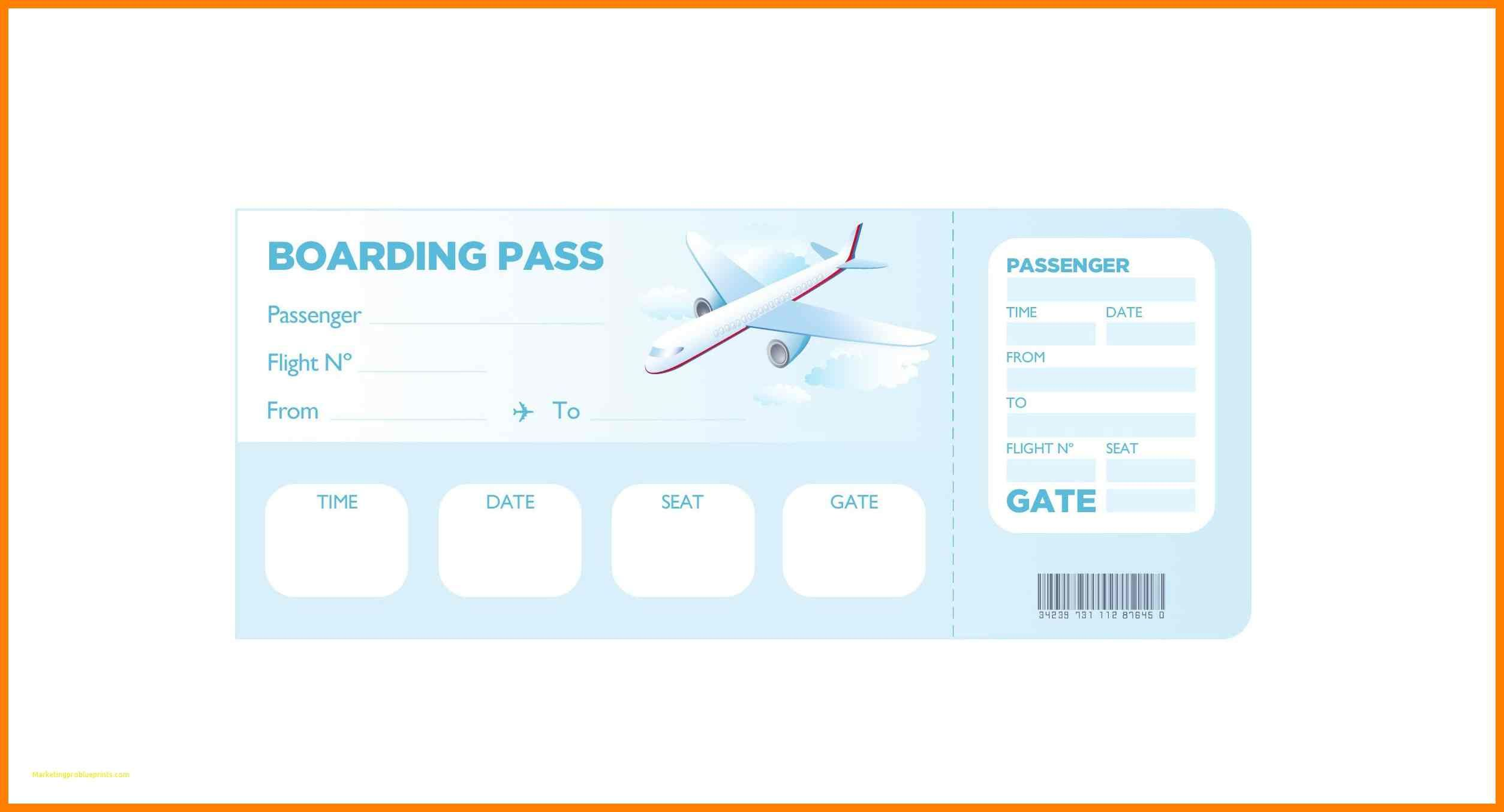 6+ free printable boarding pass template | st ...
