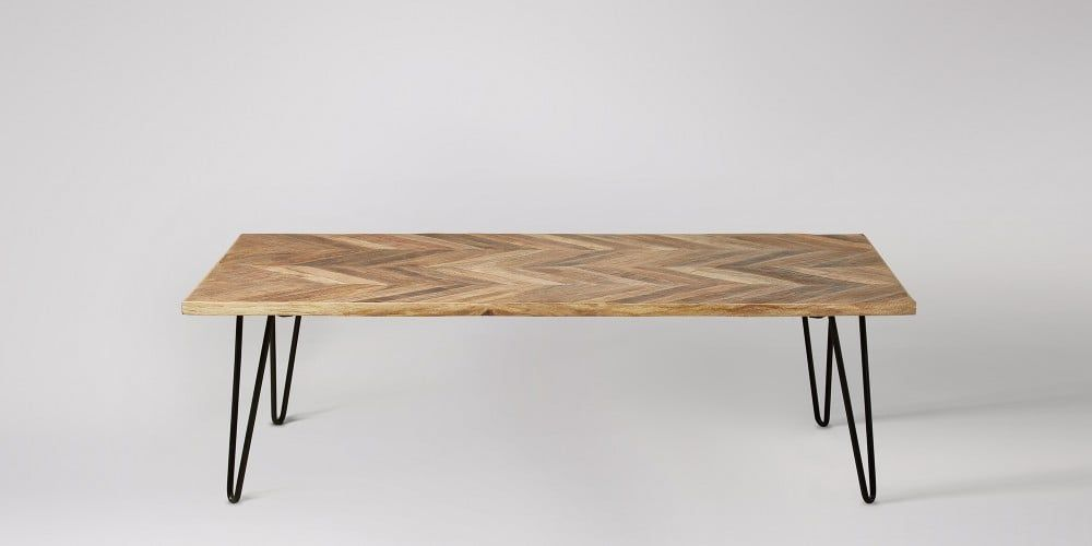 Adriel Mango Wood Coffee Table Swoon Editions
