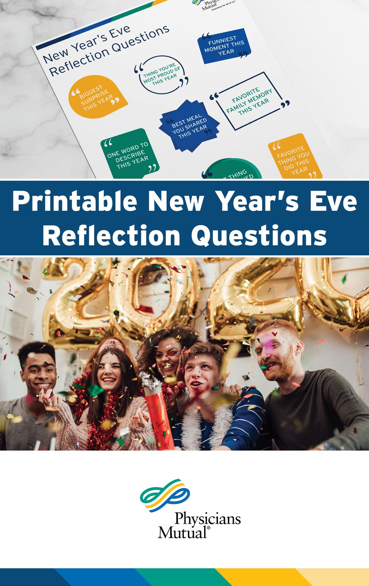 Ring In The New Year With These Free Printable Reflection