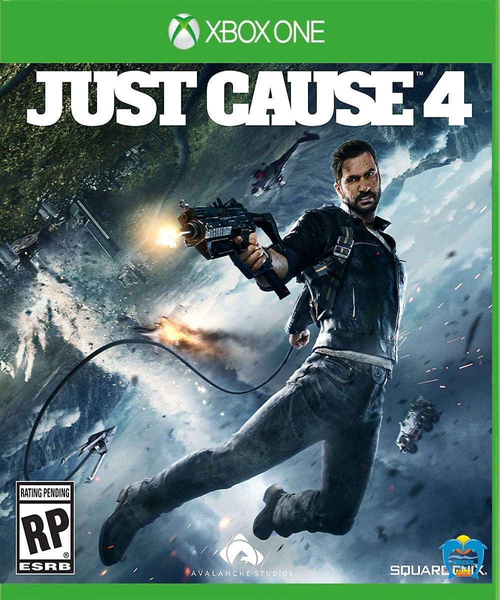Just Cause 4 Xbox one, Xbox one games, Xbox