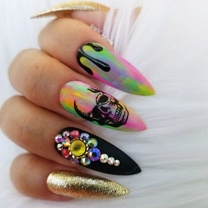 Nailsmagazine On Instagram Delicious Nails By Naild By Nina