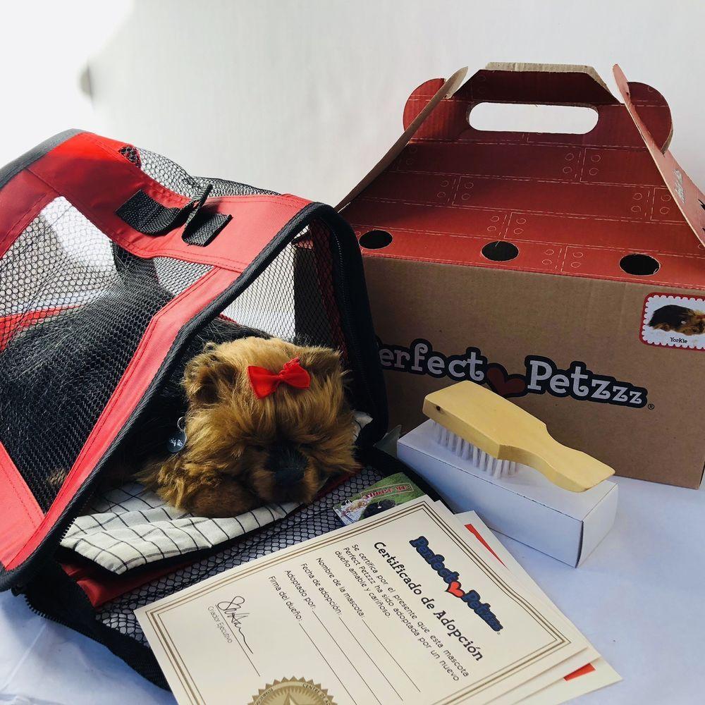 Perfect Petzzz The Original Breathing Pet Yorkie Puppy Brush