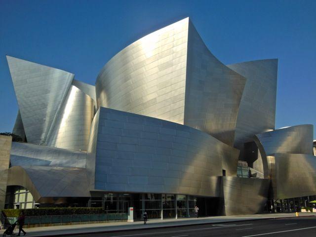Los Angeles Architecture Tours Walt Disney Concert Hall Frank