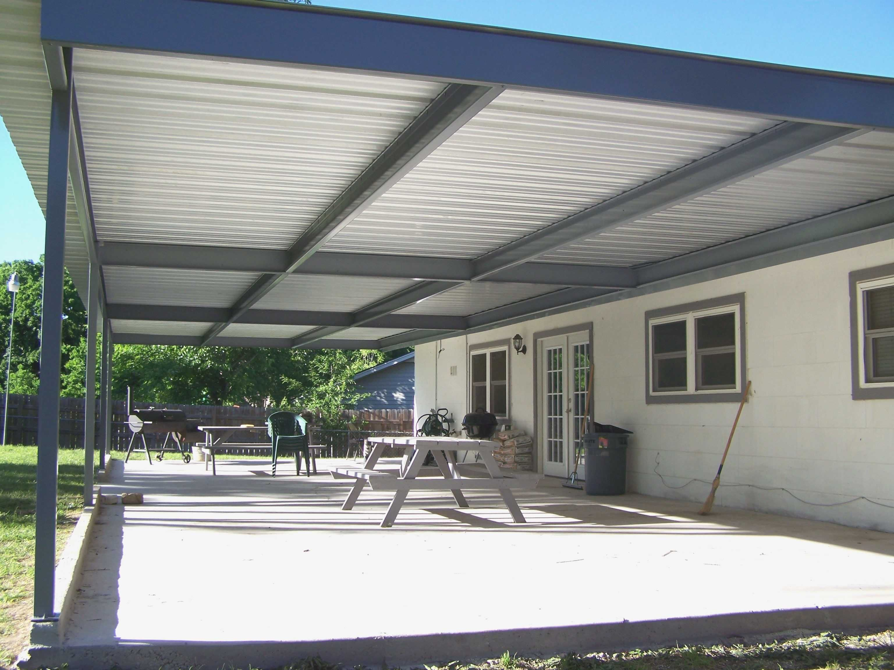 Metal Roof Covered Patio Unique Best 25 Metal Patio Covers