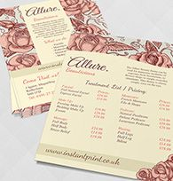 allure A6 Flyer