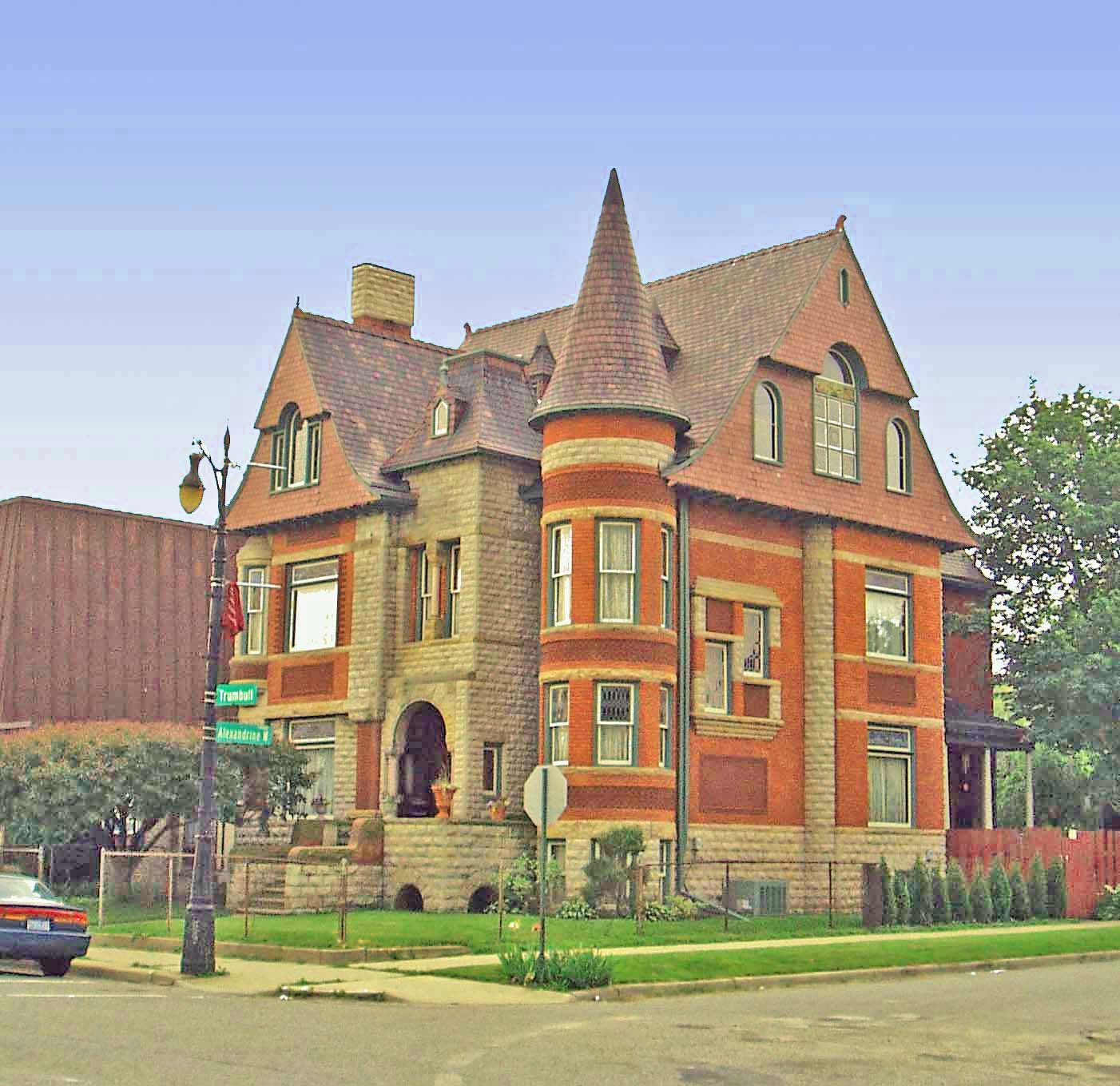 William Northwood Home Detroit 3985 Trumbull In The