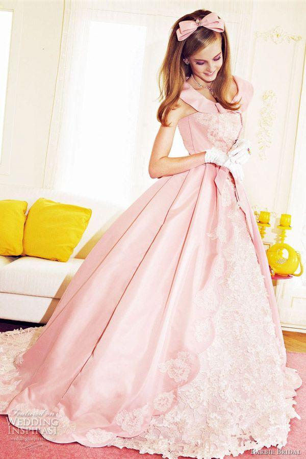 800e094649ad7 「Barbie BRIDAL」の可愛すぎるカラードレスcollectionでおとぎ話の主人公に♡にて紹介している画像