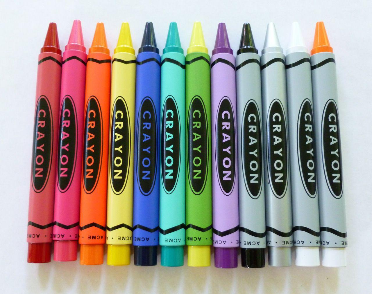 A Collection Acme Crayon Rollerballs