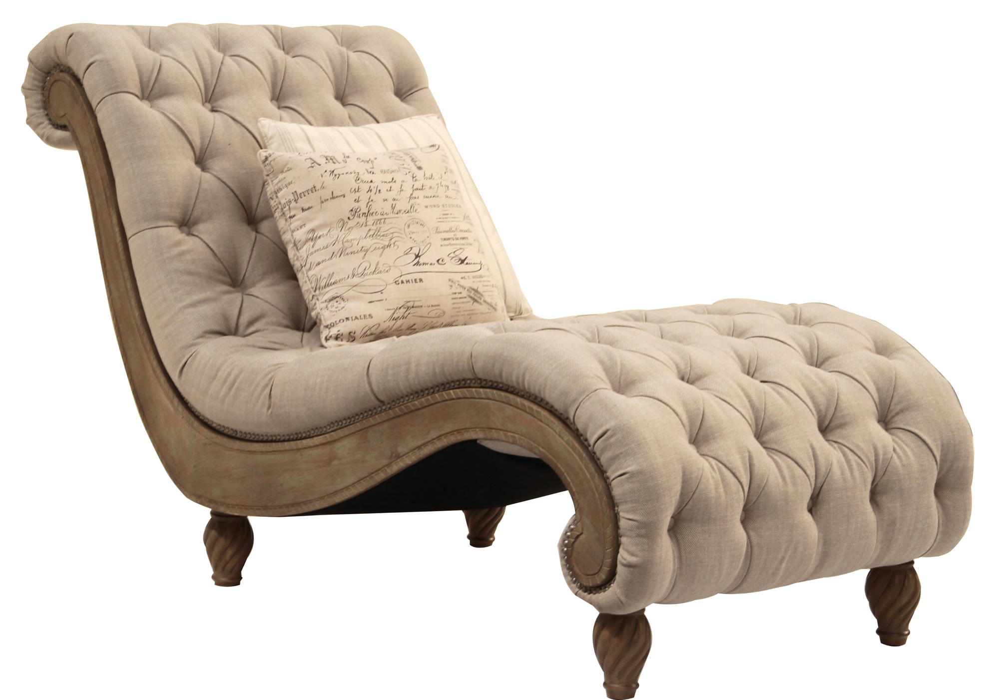 Tufted Chair And A Half Dinah Plus Chaise And A Half Rachlin Classics Home