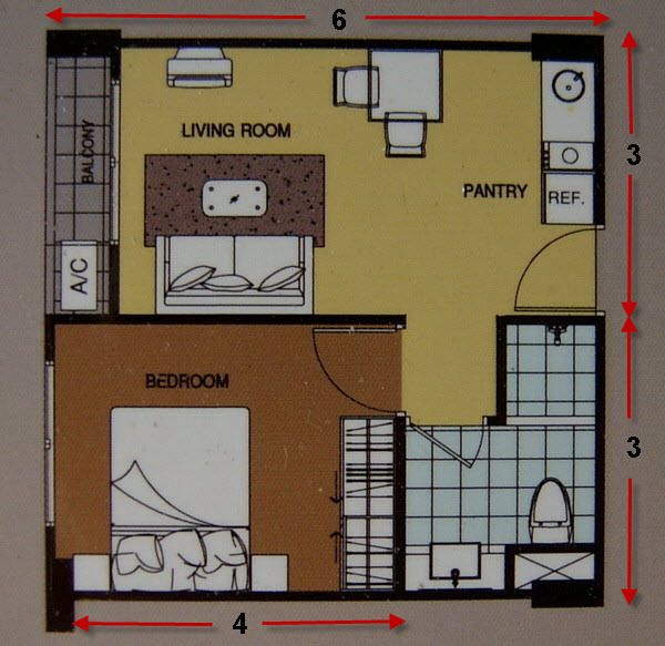 Small thai house floor plans the thailand forum granny flat pinterest - Small housessquare meters ...
