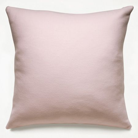 Cotton Flannel Light Pink Pillows ($30)