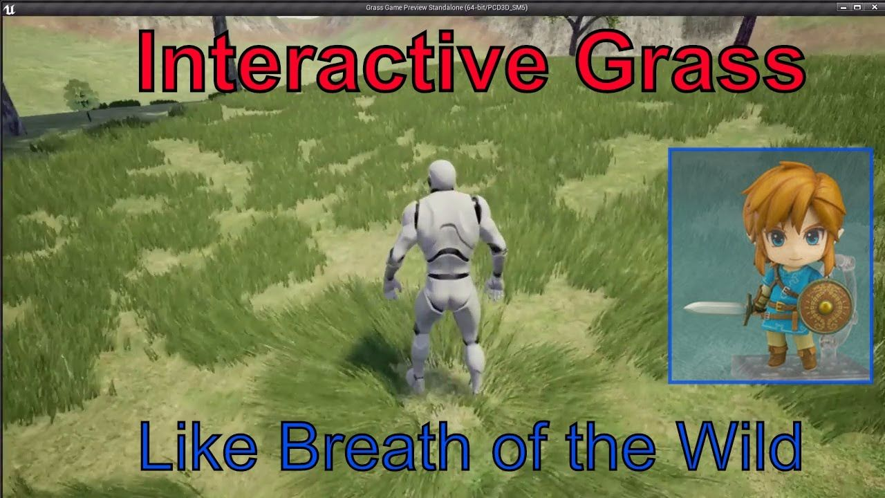 Interactive grass tutorial - Unreal Engine 4 | Unreal Engine