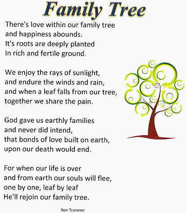 Family Reunion Poems 5