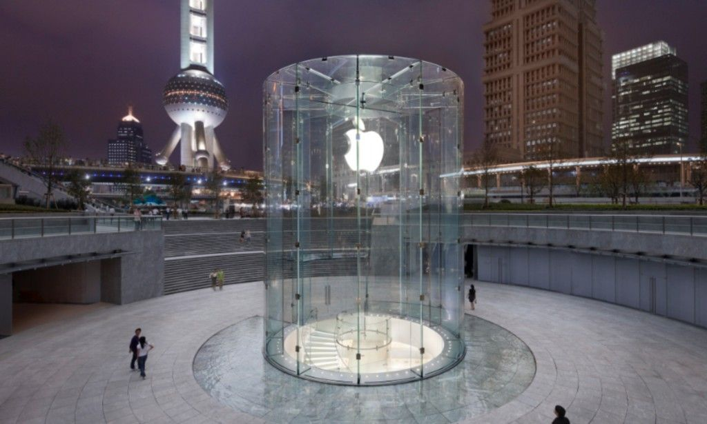 Apple wins patent for glass staircase seen in its Shanghai
