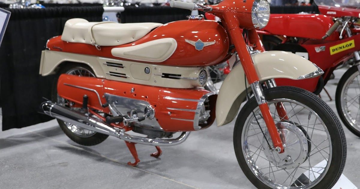 1958 Aermacchi Chimera Sold For 24 200 At The 2019 Mecum Las Vegas Motorcycle Auction