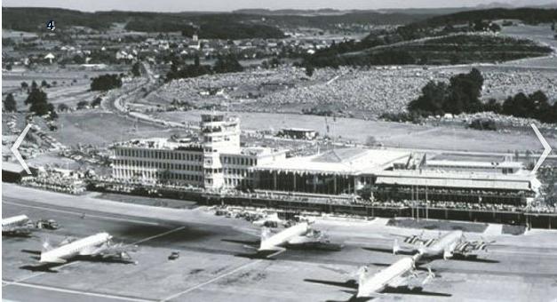 1977 Airport History Flughafen Zurich Flughafen Zurich