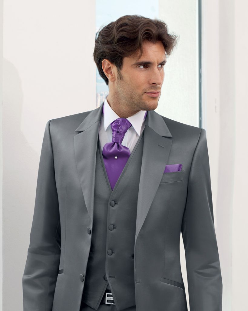Costume homme mariage costume guy laurent costume - Costume gris homme ...