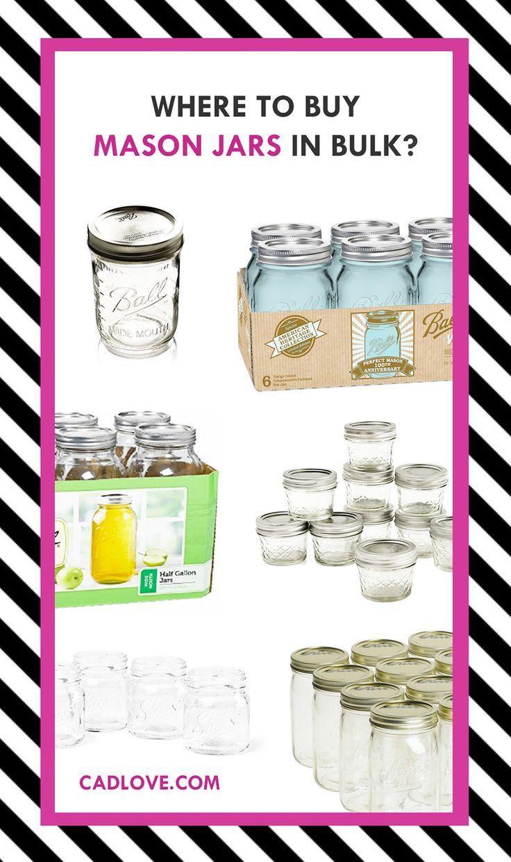 Where to buy mason jars in BULK? | Interesting Stuff | Pinterest ...