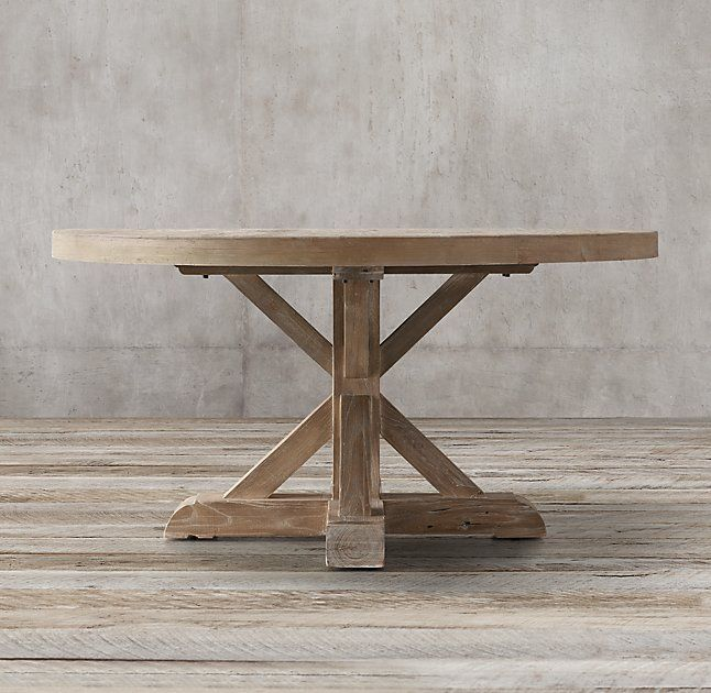 Distressed Pine Round Dining Table Charming Ideas Distressed