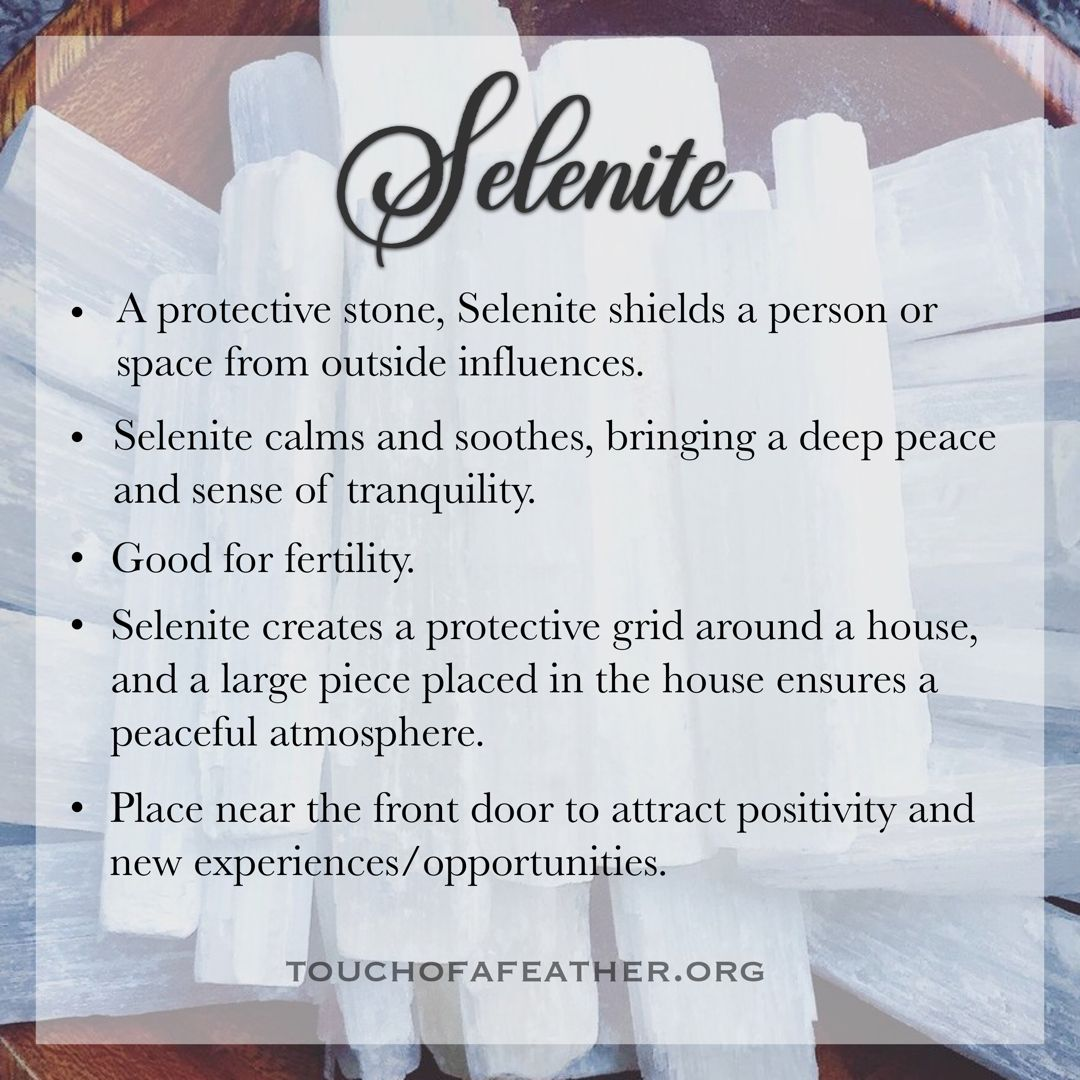Selenite Crystal Meaning Spiritual Crystals Crystal Healing Stones Crystal Meanings