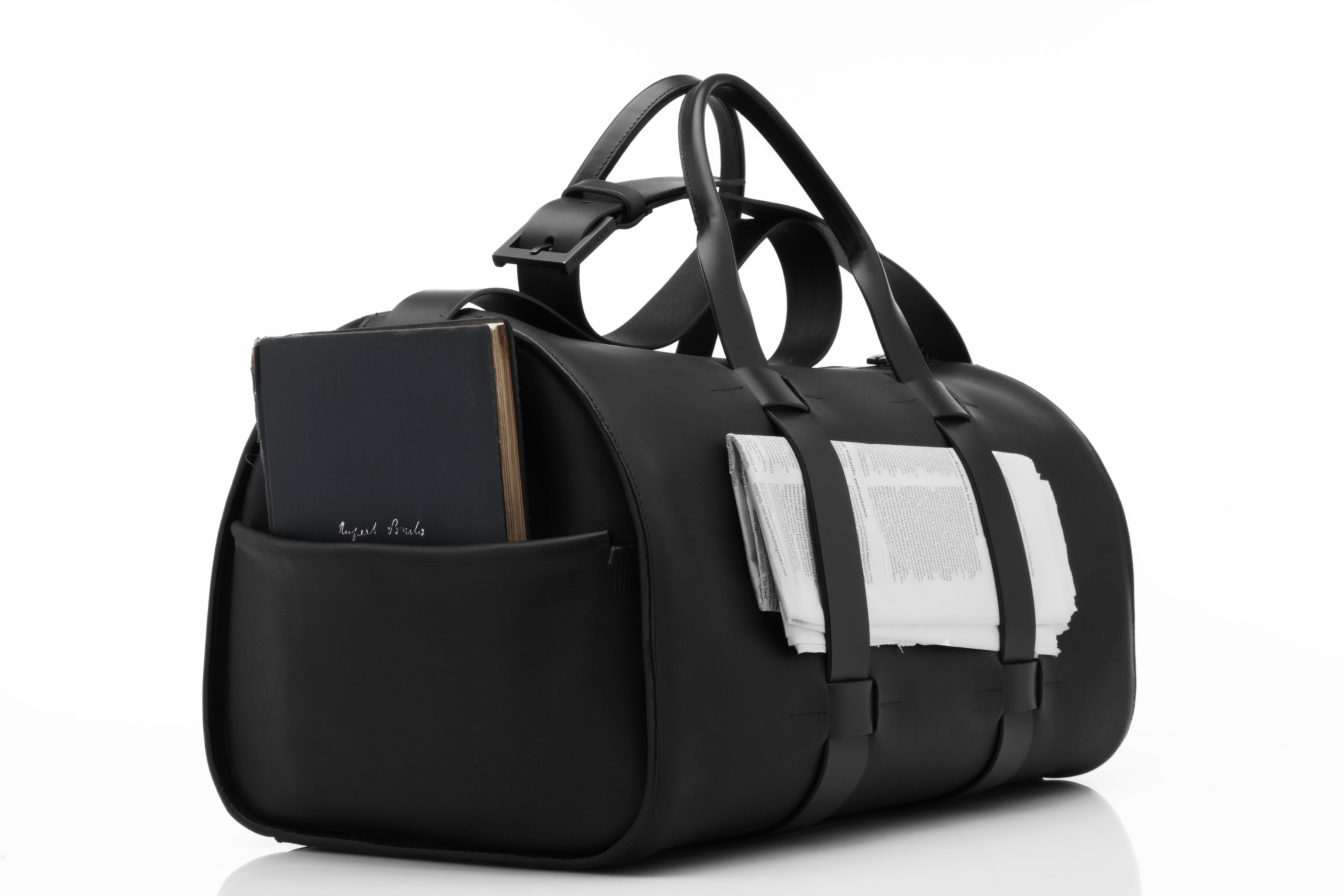 9ab4f00b4711 Troubadour Day Bag - Black London-based luxury men s accessories brand  specialising in superior handcrafted leather goods for men. Functional  Design.