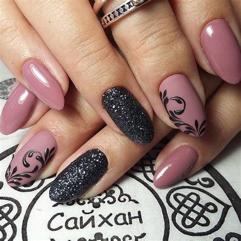 best 200 cute nail design ideas black color  classy nail