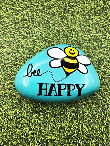 25 Best Painted Rock Bumble Bee Ideas is part of Painted rocks diy, Rock painting ideas easy, Painted rocks kids, Painted rocks, Hand painted rocks, Rock painting art - Here you can see best bumble bee painted rocks ideas to stimulate your imagination  Enjoy and choose your favourites!