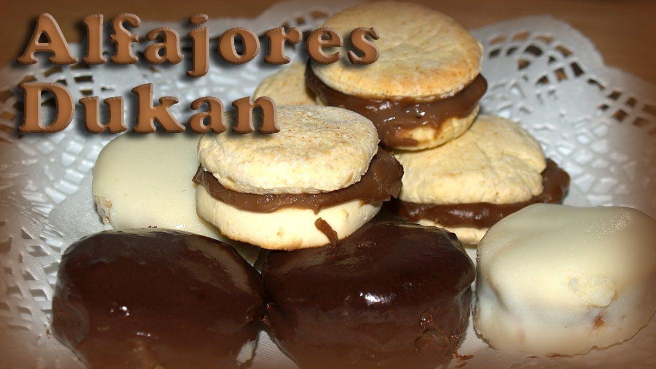Alfajores de dulce de leche Dukan - Receta Fase Crucero -