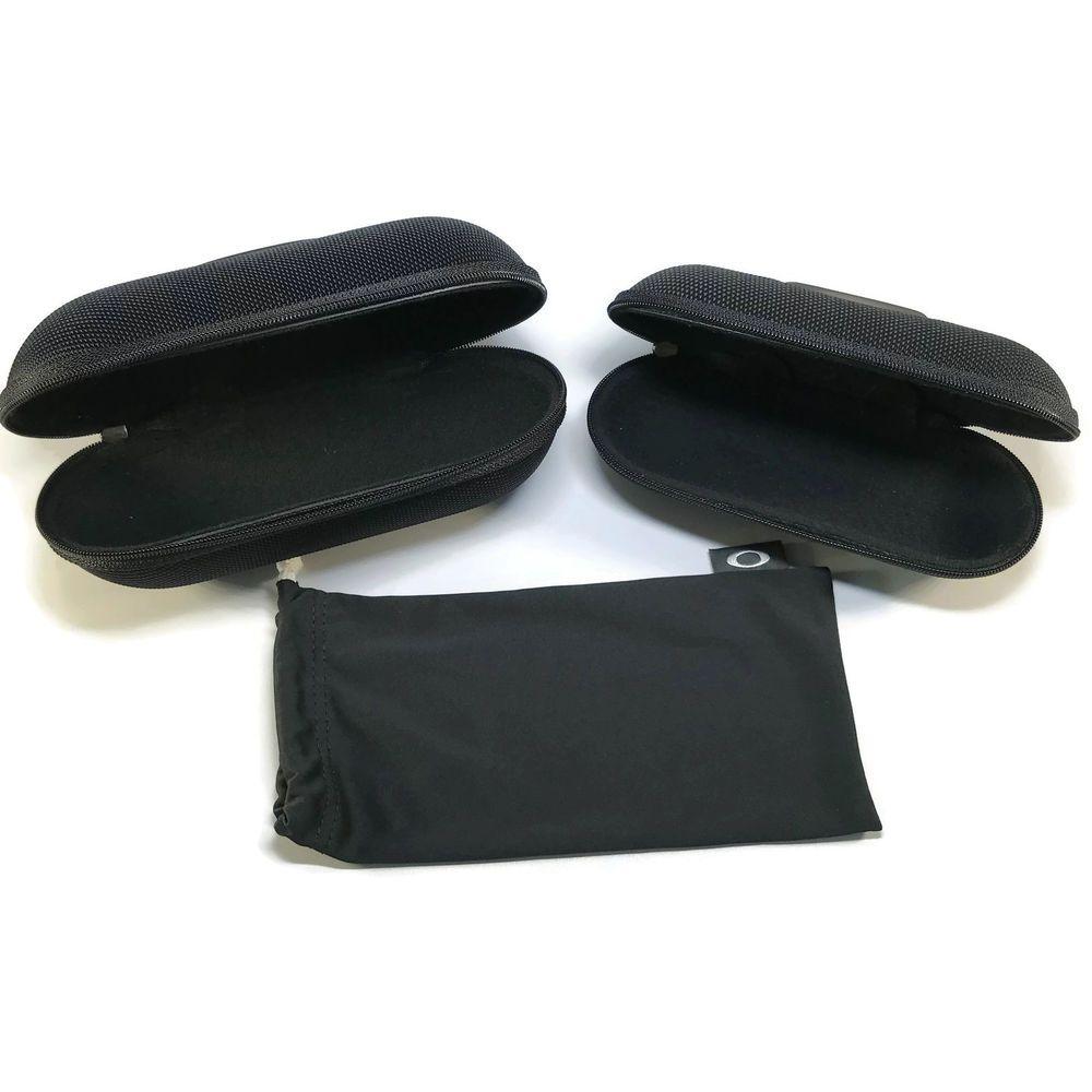 d874f537c4d9 OAKLEY BLACK SOFT VAULT BULLET Eyeglasses Sunglasses Cases with Microbag   Oakley