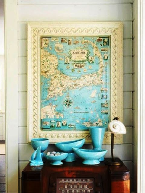 Ciao Newport Beach Decorating With Maps Home Ideas Pinterest