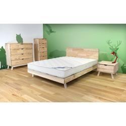 Nachttische Massivholz - io.net/interieur #bedroomscandinavian