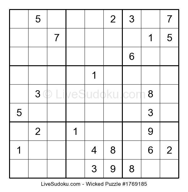 Free Sudoku Puzzle
