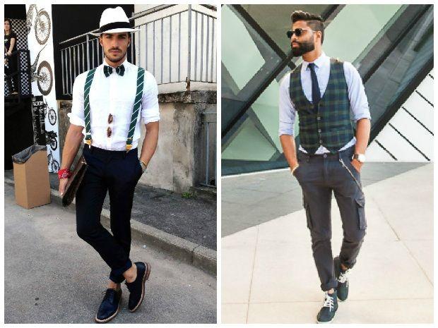 d4a148575daa6 Look vintage masculino – Charme e estilo atemporal Colete Masculino