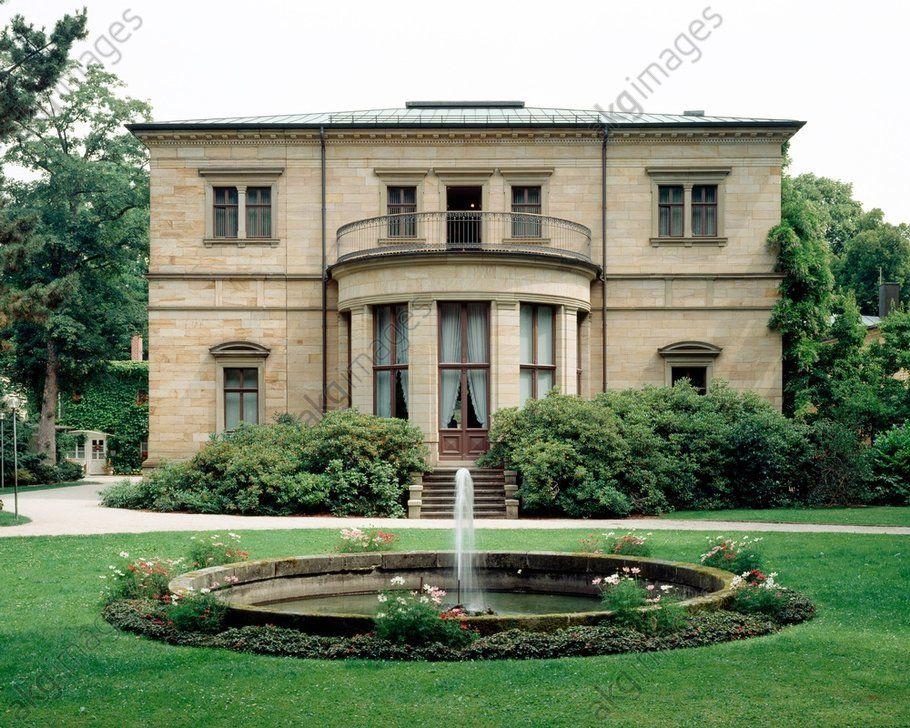 R.Wagner tumba, Villa Wahnfried, Alemania / foto (с