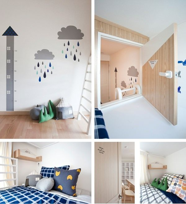 Seongyoon and Seyoon are two lucky 4 and 6 years old Corean brothers who live with their parents in a new a 82m2 apartment. The kids' room can be more beautiful, it's like a little house with two separated bedrooms, one for each. Behind this project, there's a mum worried about developing her children's positive […]