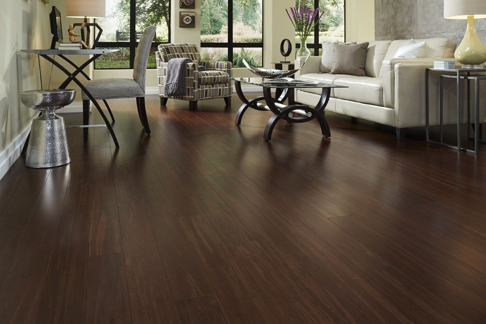 Tobacco spice click strand by morning star bamboo floors for Morningstar wood flooring