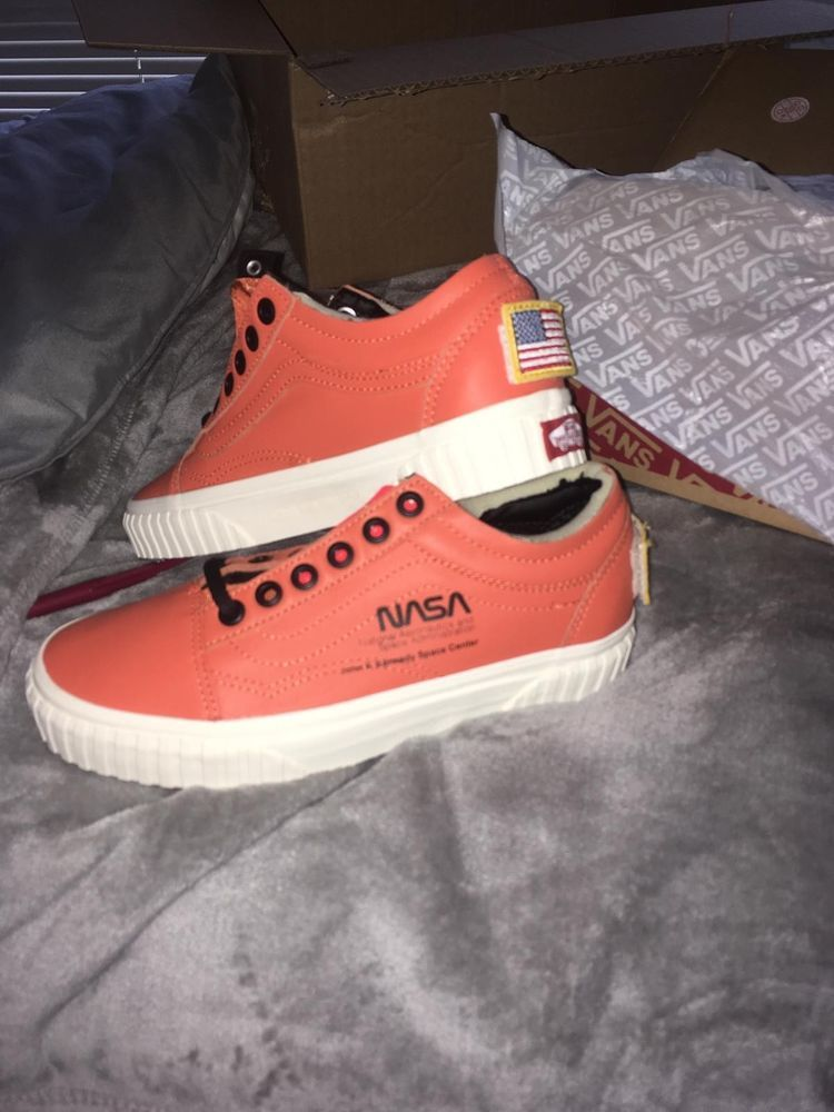 c86ce6d77fa4 Vans x NASA Old Skool - Firecracker Orange VN0A38G1UPA - US4.5 - 100%  Authentic  fashion  clothing  shoes  accessories  mensshoes  athleticshoes  (ebay link)