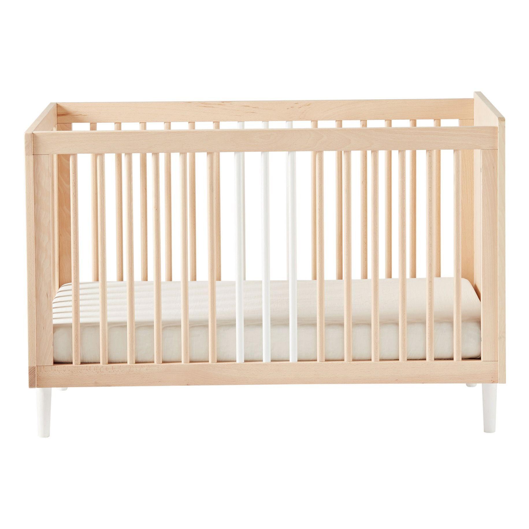 Swann Baby Bed White Bedding